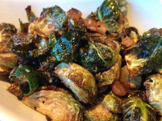 Globe @ YVR: Crispy Brussel Sprouts