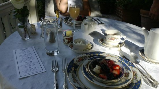 Simpson House Inn: Breakfast