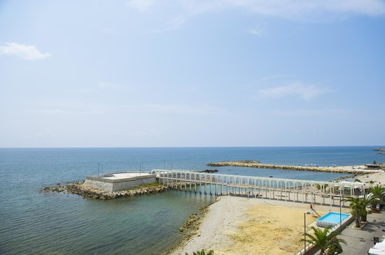 Hotel Miramare : The amazing view from our 3d floor room