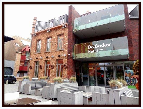 Hotel De Boskar: Vooraanzicht
