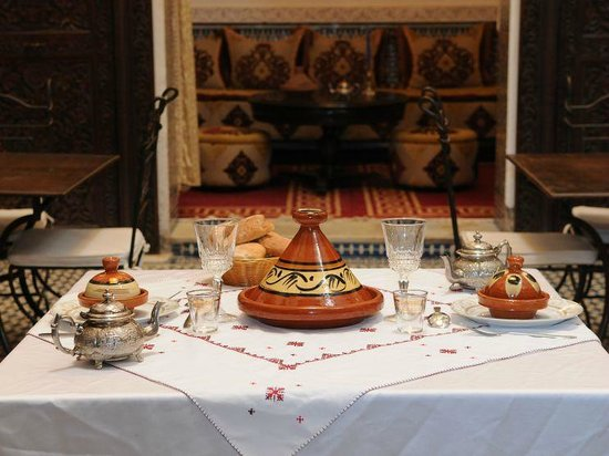 Dinner at Riad Youssef