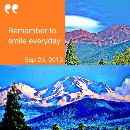 Dream Inn Mount Shasta: We Smile Everyday at Dream Inn