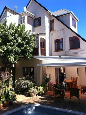 Clarence House: Begrüssungsapéro im Innenhof