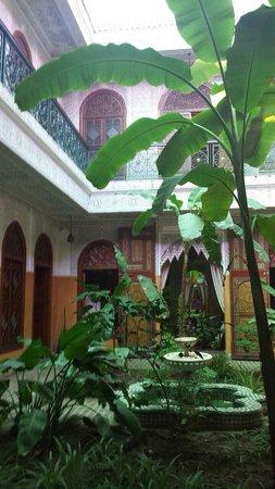 Riad Jardin Secret: Patio du Ryad