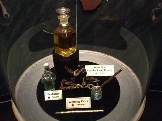 Arabia Steamboat Museum Perfume That Was Preserved For  Feet Under The Ground
