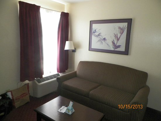 Best Western Continental Inn : lving room area pic #3