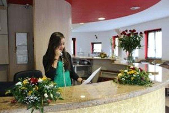 Hotel Socrate : reception