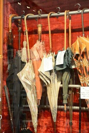 The Old Umbrella Shop: Old umbrellas