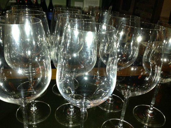 Preservation Bread and Wine: Wine Glasses - Served 300 glasses of Wine during Oct WINE DINNER