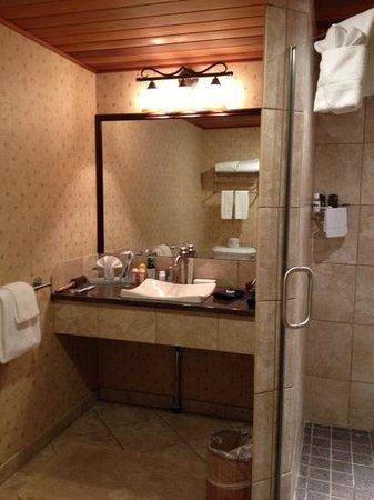 Golden Arrow Lakeside Resort: Haystack Specialty Room Bathroom