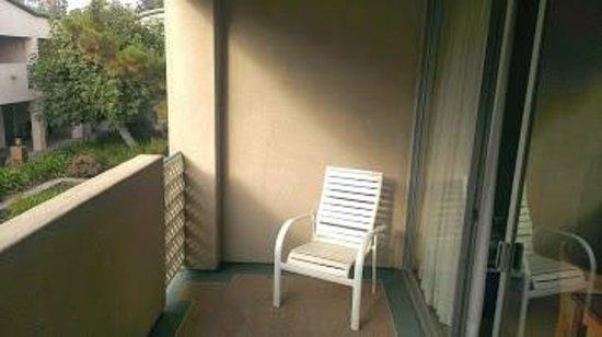 Mikado Hotel : Mikado balcony