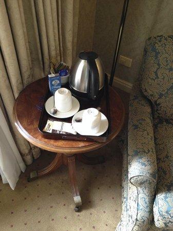Sir Stamford at Circular Quay Hotel Sydney: cofee and tea service