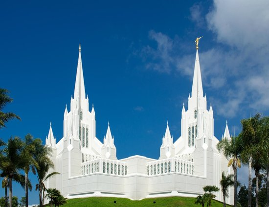 Map Of Arizona Lds Temples.Lds Temple In La Jolla Picture Of San Diego Mormon Temple La