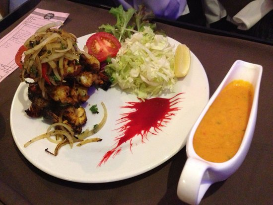 Taste of India: King prawn Shashlik