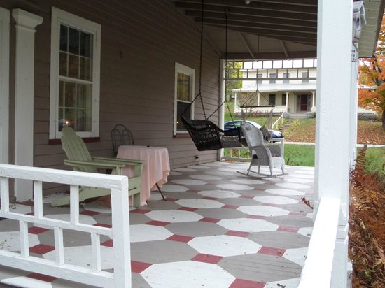 Book & Blanket Bed & Breakfast: Another Porch View