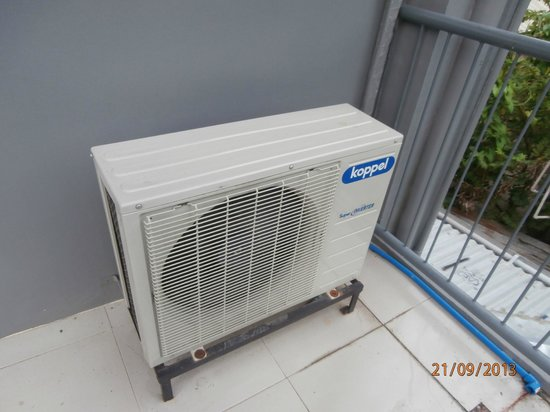 Hotel Europa Basak Philippines : Modern and effecient, individually controlled cooling system
