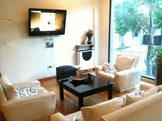 Cantón de Valais: Lobby del hotel