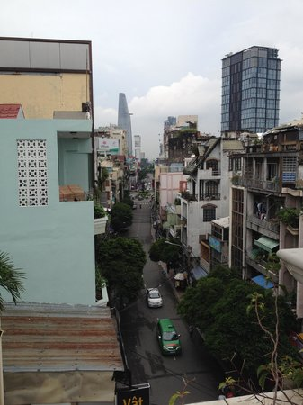 Cinnamon Hotel Saigon: view from balcony