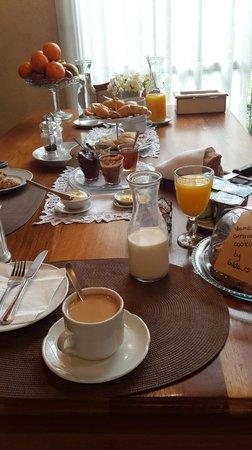 Casa Lila: Desayuno
