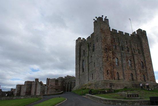 Bamburgh Castle: Castle.