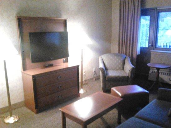 L'Appartement Hotel: Suite lounge