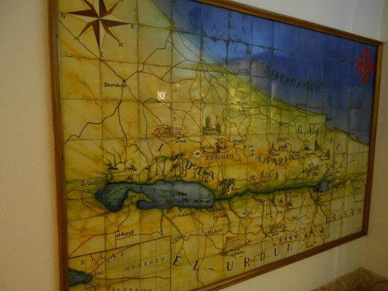 Custodia Di Terra Santa Casa Nova: Map