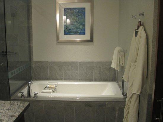 The Ritz-Carlton, Charlotte: Bathtub