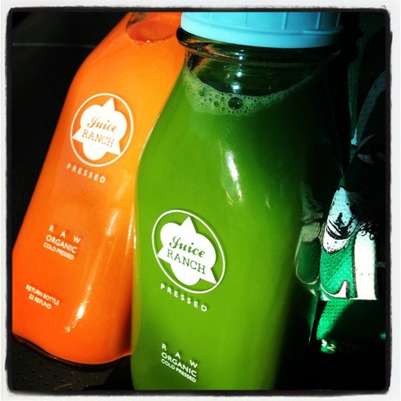 Juice Ranch: Little Miss Sunshine, and Greens 'n Ginger
