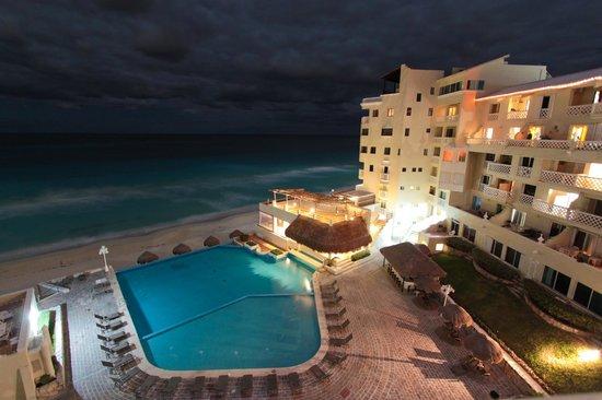 Apartamentos Cancun Plaza: vista do quarto