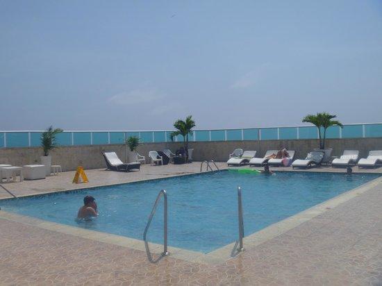 Hotel Cartagena Plaza : piscina