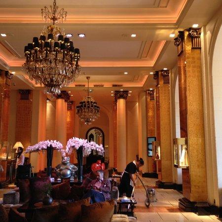 Hôtel Barrière Le Majestic Cannes : reception