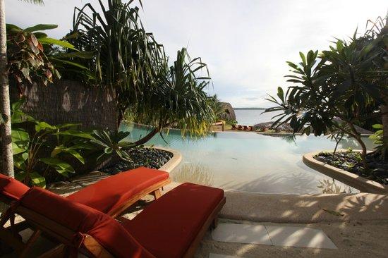 The Havannah, Vanuatu : View from a Lagoon Villa