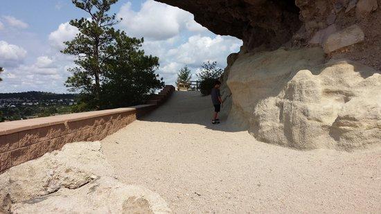 Rock Park : walking area