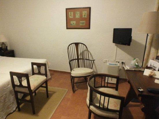 Caserio de Mozaga: Detalle de la habitación