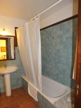 Caserio de Mozaga: Detalle del baño