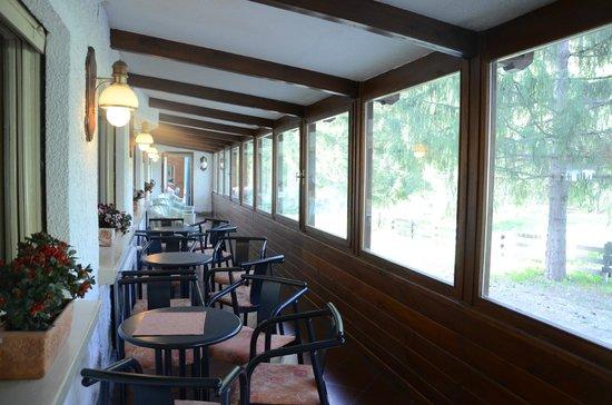 Hotel Rosa Serenella : veranda