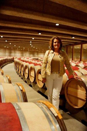 Opus One Winery: barrels