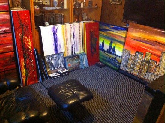 Atelier Un COUPLE EN ART: Toiles en inventaires
