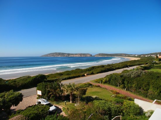 The Robberg Beach Lodge : this is a real room with a view