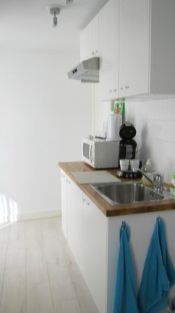 Tatiana Bed and Breakfast: minibar/kitchen everything equiped