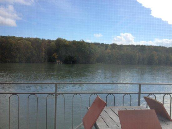 Schloss Beuggen: View of the river