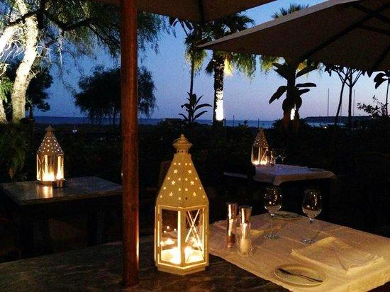 Restaurante Atlantico: terraço / terrace