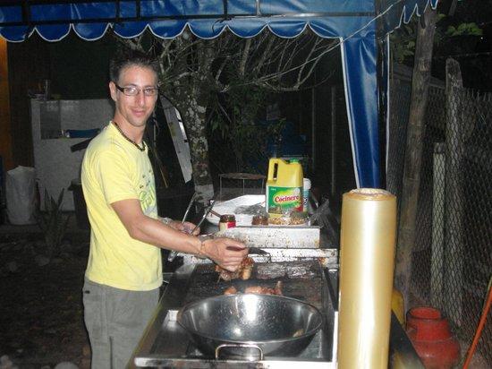 Coca, Ekvador: el chef es muy amable