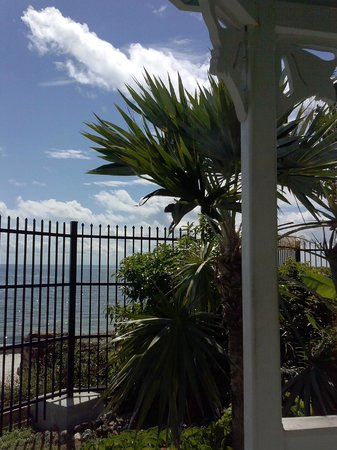 Key West Garden Club: oceanview
