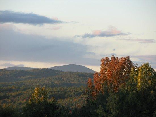View from Henniker Motel