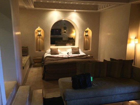 Les Jardins de la Medina: Our Room