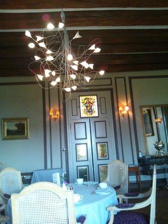 Chateau de Noizay: メインダイニング
