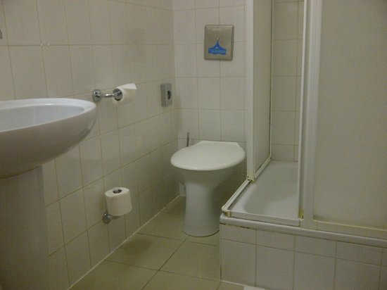 Bon Andante Hotel: Bathroom With The Eastern European Toilet