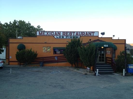 Los Pinos Mexican Restaurant: front view