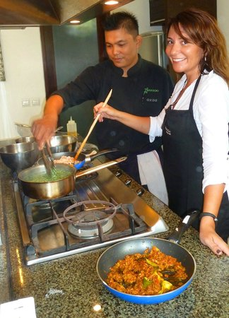 The Amala: Cooking Class with our Chef Gede